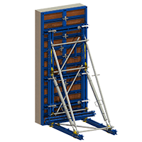 Adjustable supporting frames