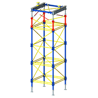 Load-bearing scaffolding <br/>Top Tower 100