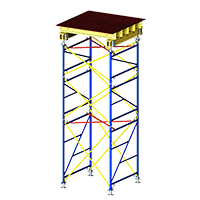 Load-bearing scaffolding <br/>Top Tower 60